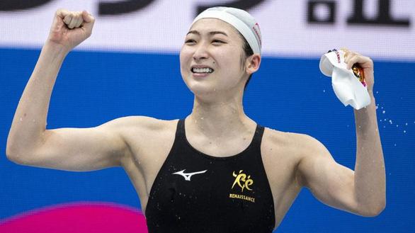Sống sót với bệnh ung thư máu, nữ kình ngư Nhật giành vé dự Olympic Tokyo - Ảnh 2.