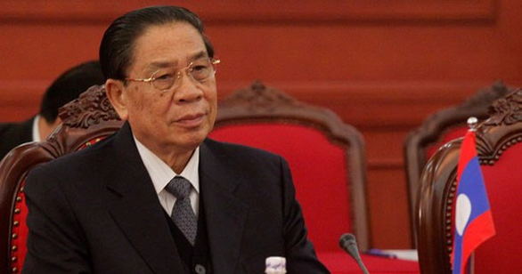 Vụ lật tàu ở Lào: Nguyên tổng bí thư Sayasone an toàn, vợ không may qua đời - Ảnh 1.