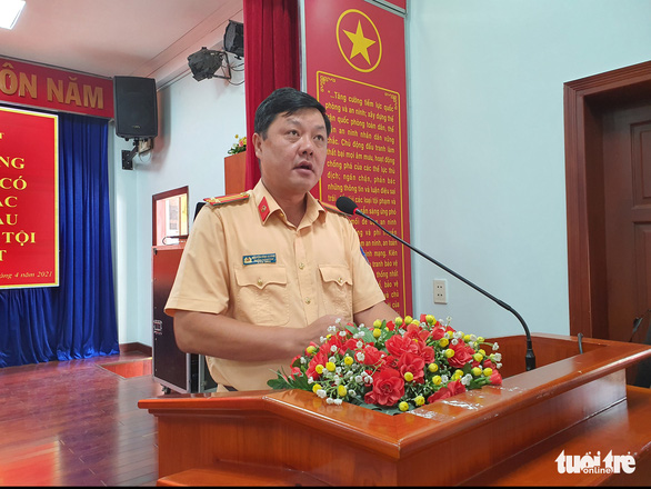 Ho Chi Minh City police commended many traffic police who worked well - Photo 3.