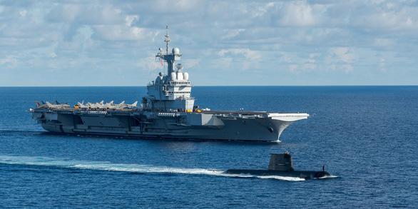 5 nước tập trận trên cửa ngõ ra vào Biển Đông, gởi thông điệp tới Trung Quốc - Ảnh 1.