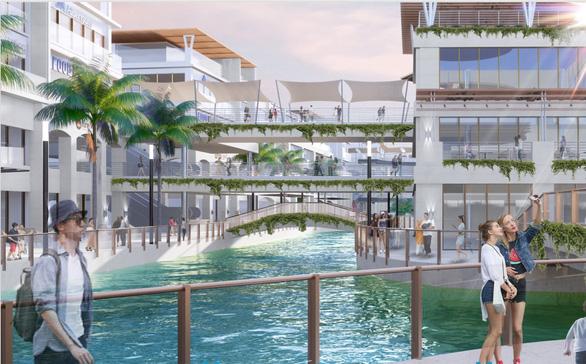 Xây dựng đại trung tâm thương mại trên mặt nước tại Ecopark - Ảnh 2.