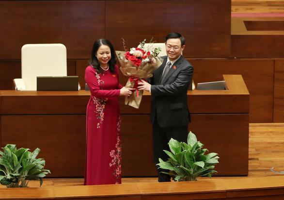 Bà Võ Thị Ánh Xuân làm Phó chủ tịch nước - Ảnh 2.