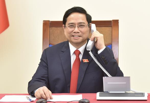 Thủ tướng Phạm Minh Chính điện đàm với thủ tướng Lào, Campuchia - Ảnh 1.