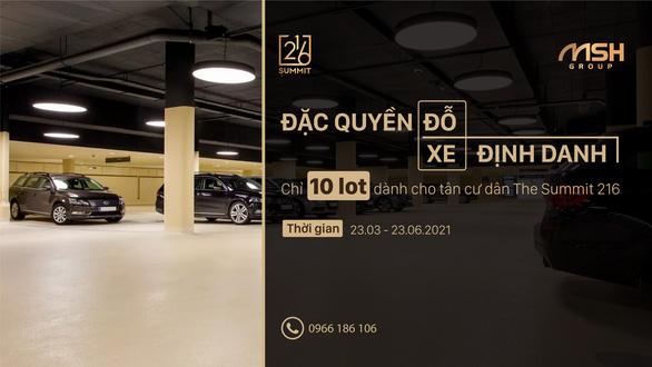 Điểm đỗ xe định danh - Đặc quyền dành riêng cho cư dân VIP - Ảnh 5.