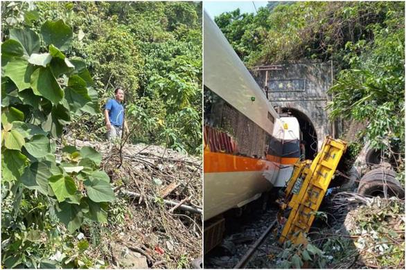 Lộ ảnh quản lý công trường gây tai nạn đường sắt thảm khốc vô cảm đứng nhìn nạn nhân - Ảnh 1.