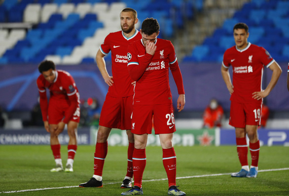 Phòng ngự tồi tệ, Liverpool thua Real Madrid 1-3 - Ảnh 1.