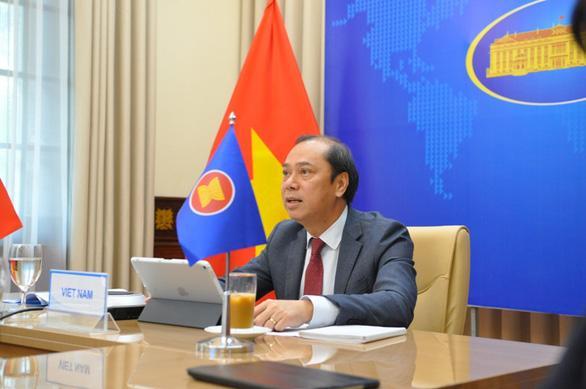ASEAN ghi nhận quan ngại về hành động đe dọa, cưỡng ép ở Biển Đông - Ảnh 1.
