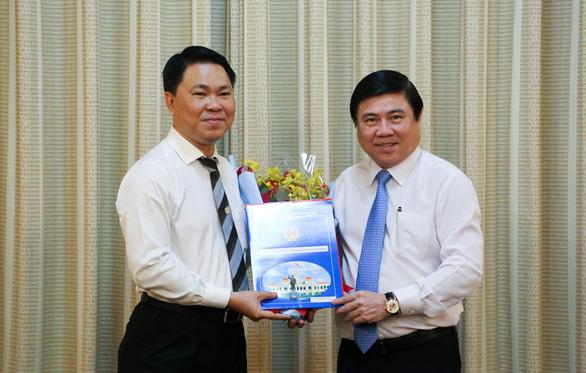Bí thư Bình Chánh làm giám đốc Sở Xây dựng TP.HCM - Ảnh 1.