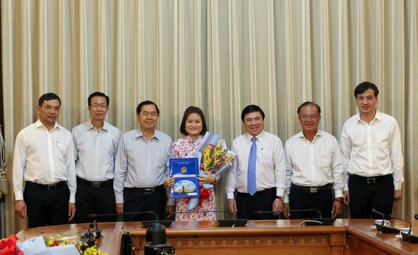 Bí thư Bình Chánh làm giám đốc Sở Xây dựng TP.HCM - Ảnh 2.