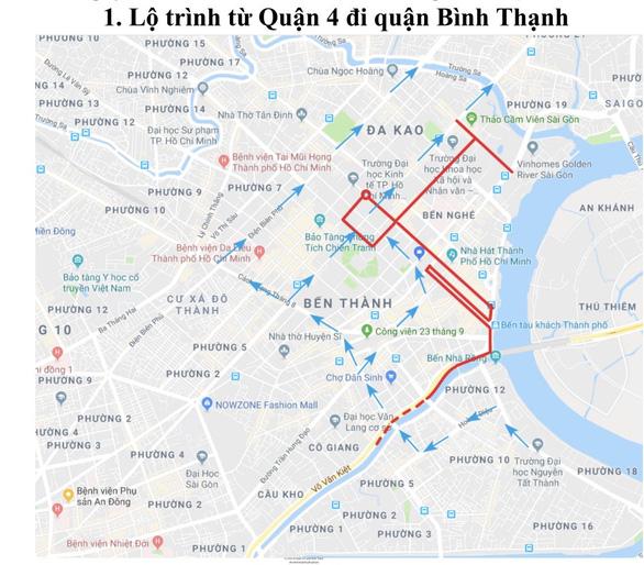 Điều chỉnh giao thông khu vực trung tâm TP.HCM cho giải marathon quốc tế - Ảnh 1.