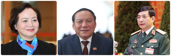 Trình Quốc hội miễn nhiệm Phó thủ tướng Trịnh Đình Dũng và một số bộ trưởng - Ảnh 2.