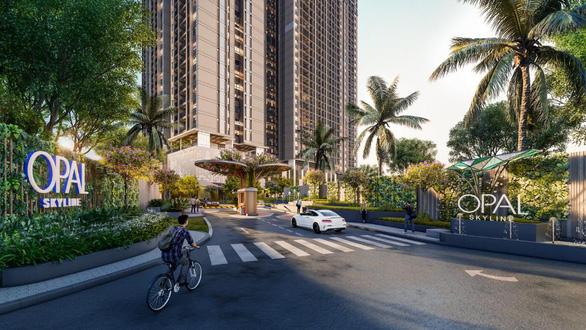 Căn hộ cao tầng Opal Skyline thu hút mạnh tại thị trường Thuận An - Ảnh 1.