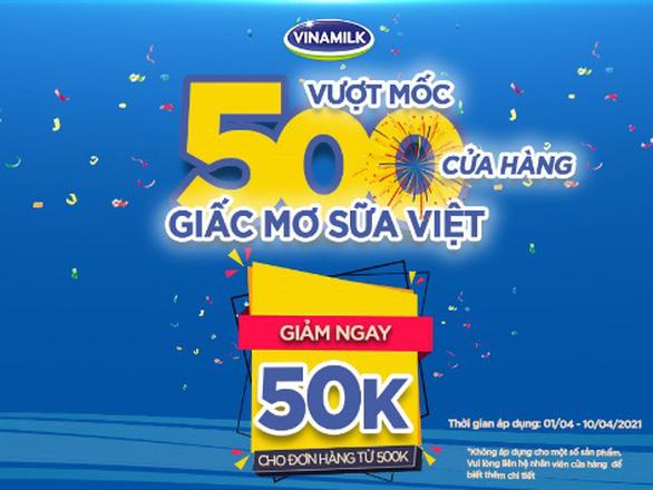 Vinamilk vượt mốc 500 cửa hàng mang tên Giấc Mơ Sữa Việt - Ảnh 5.