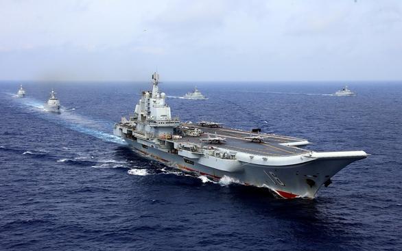 Mỹ, Trung phát thông điệp bằng tàu chiến - Ảnh 1.