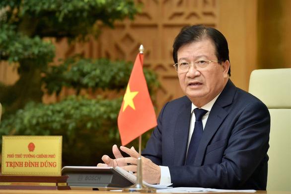 Trình Quốc hội miễn nhiệm Phó thủ tướng Trịnh Đình Dũng và một số bộ trưởng - Ảnh 1.