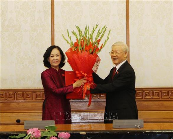 Bà Trương Thị Mai làm Trưởng Ban Tổ chức Trung ương - Ảnh 1.