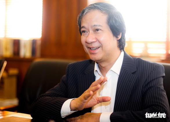 Tân Bộ trưởng Bộ GD-ĐT Nguyễn Kim Sơn: Tôi mong đời sống người thầy được cải thiện - Ảnh 1.