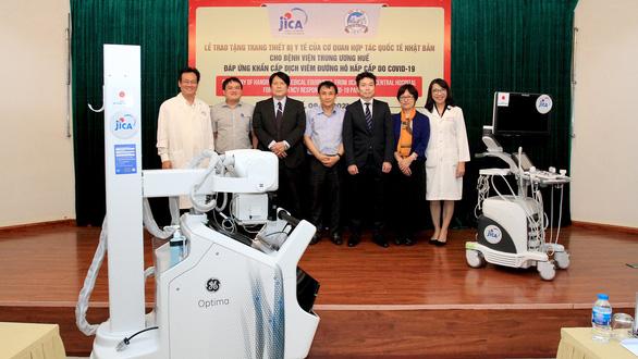 Nhật Bản hỗ trợ thiết bị y tế trị giá 10 tỉ đồng cho Huế phòng chống dịch COVID-19 - Ảnh 1.