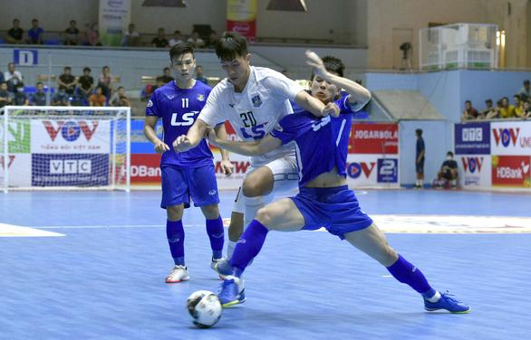 Futsal: Đương kim vô địch Thái Sơn Nam thất bại ngay ngày khai mạc - Ảnh 1.