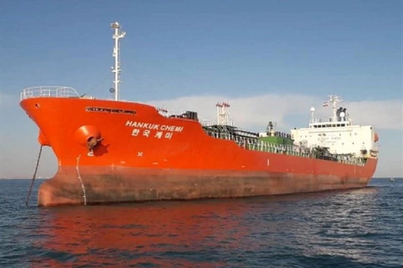 Iran thả tàu chở dầu Hàn Quốc sau hơn 3 tháng bắt giữ - Ảnh 1.