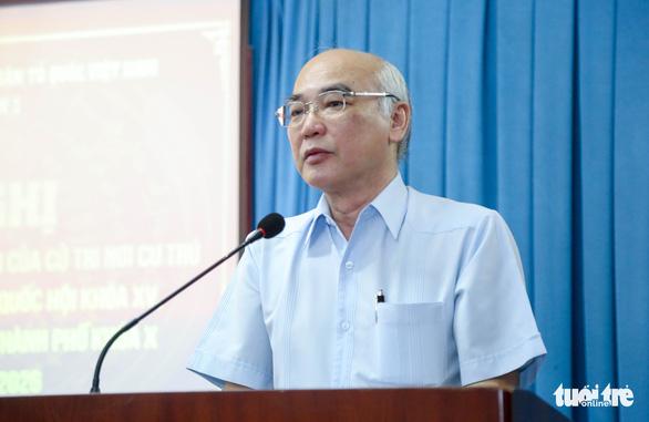 Cử tri tín nhiệm ông Phan Nguyễn Như Khuê vì bênh vực quyền lợi của dân - Ảnh 1.