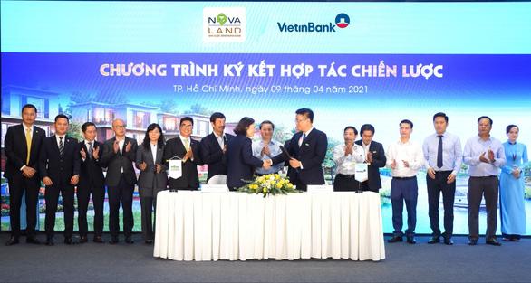 Vietinbank và Novaland ký kết hợp tác chiến lược - Ảnh 1.