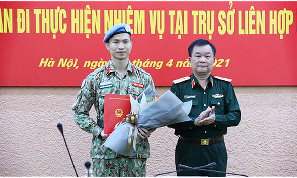 Việt Nam có sĩ quan thứ 3 làm nhiệm vụ ở Liên Hiệp Quốc - Ảnh 1.