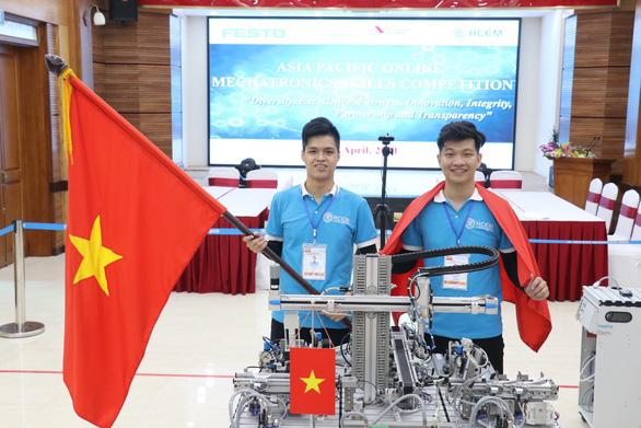Sinh viên Việt Nam giành huy chương vàng thi nghề 4.0 - Ảnh 1.