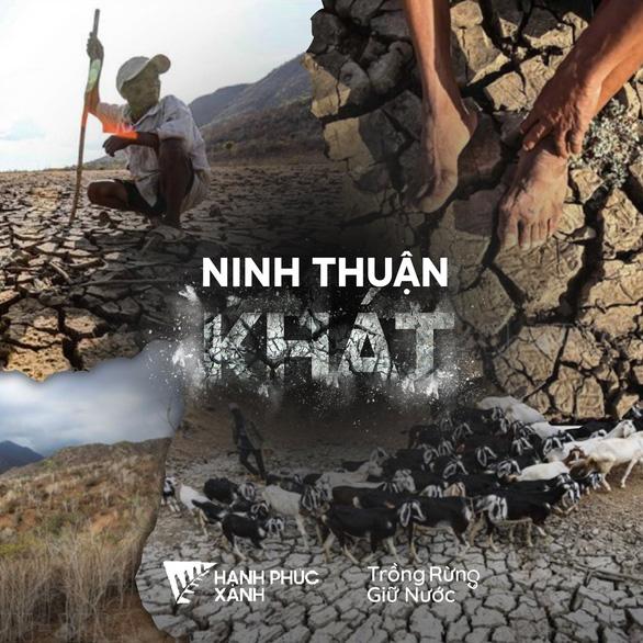 Rủ nhau gửi cây thanh thất đến Ninh Thuận để trồng rừng - giữ nước - Ảnh 2.