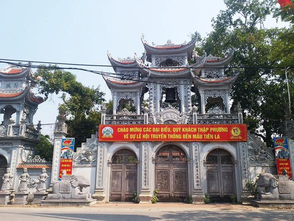 Thái Bình đề nghị người đến cụm đền Tiên La ngày 25-4 liên hệ cơ quan y tế gần nhất - Ảnh 1.