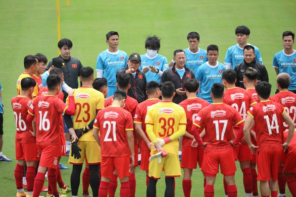 Tuyển Việt Nam đá giao hữu với tuyển Jordan tại UAE - Ảnh 1.