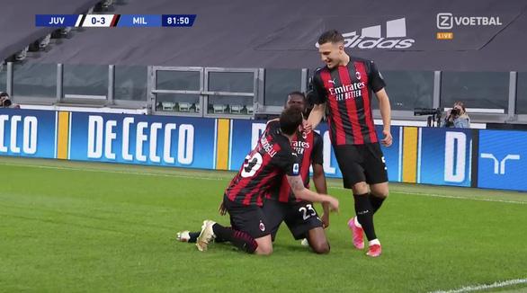 Ronaldo mất tích, Juventus thảm bại trước AC Milan - Ảnh 2.