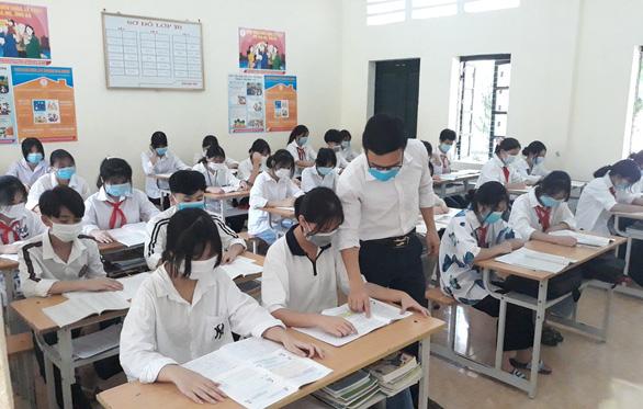 Thanh Hóa chốt 3 phương án thi tuyển lớp 10 do ảnh hưởng COVID-19 - Ảnh 1.