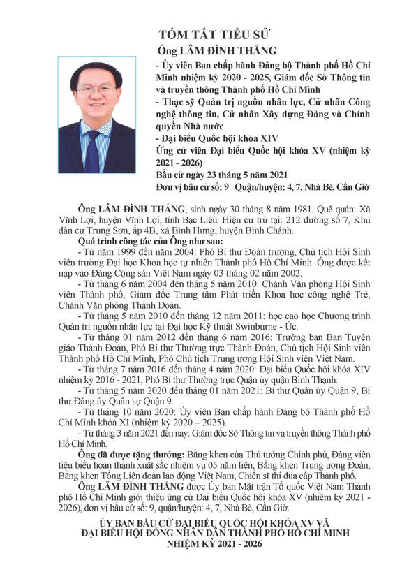Danh sách 50 ứng cử viên ĐBQH khóa XV tại TP.HCM - Ảnh 85.