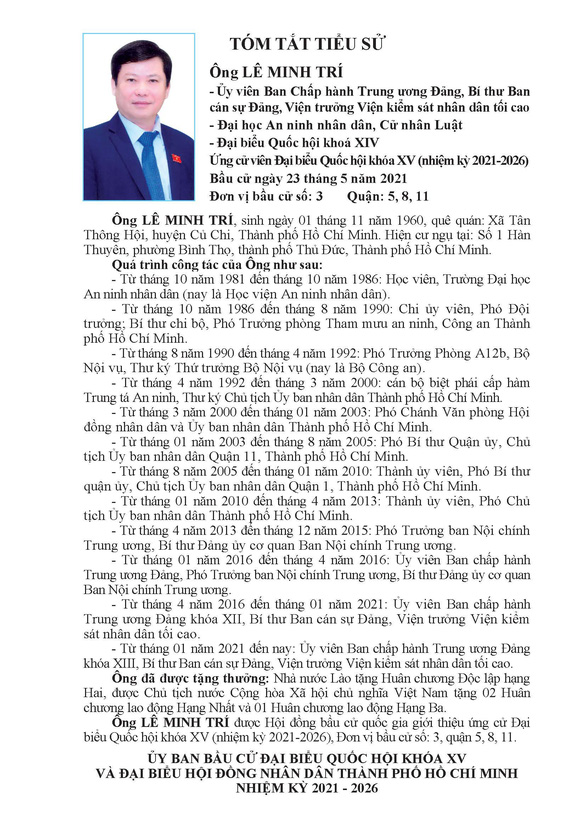 Danh sách 50 ứng cử viên ĐBQH khóa XV tại TP.HCM - Ảnh 29.