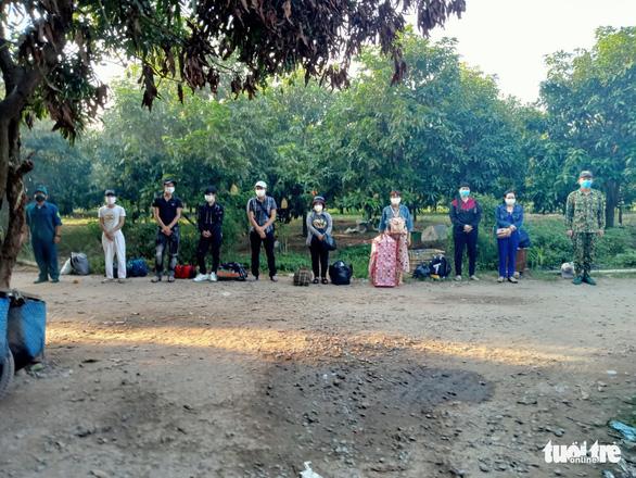 Phát hiện 8 người làm thuê ở Campuchia nhập cảnh trái phép về Việt Nam - Ảnh 1.