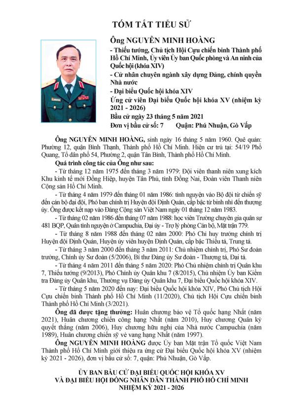 Danh sách 50 ứng cử viên ĐBQH khóa XV tại TP.HCM - Ảnh 61.