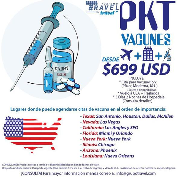Tour du lịch vắc xin COVID-19 tới Mỹ sốt xình xịch - Ảnh 2.