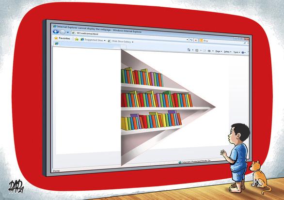Cùng con vào thời đại số: Trẻ đọc sách trên Internet, tại sao không? - Ảnh 1.
