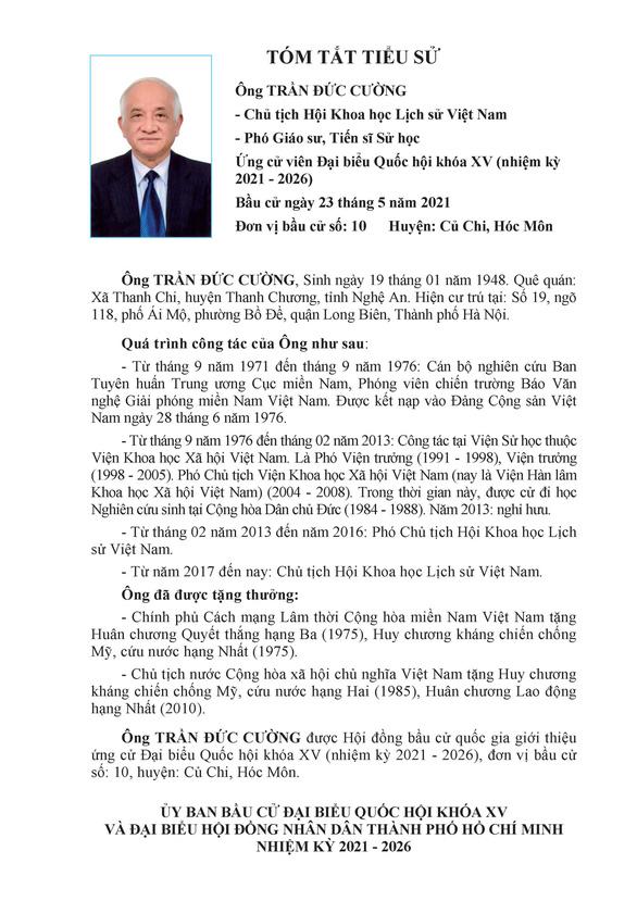 Danh sách 50 ứng cử viên ĐBQH khóa XV tại TP.HCM - Ảnh 99.
