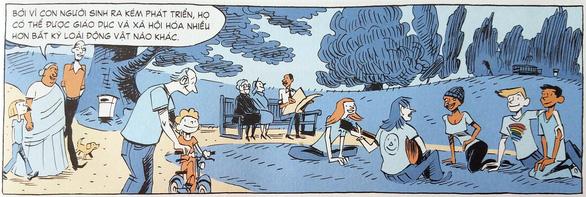 Xem Sapiens lược sử loài người bằng truyện tranh - Ảnh 4.
