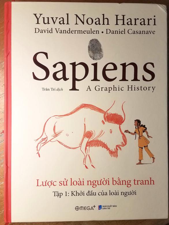Xem Sapiens lược sử loài người bằng truyện tranh - Ảnh 1.