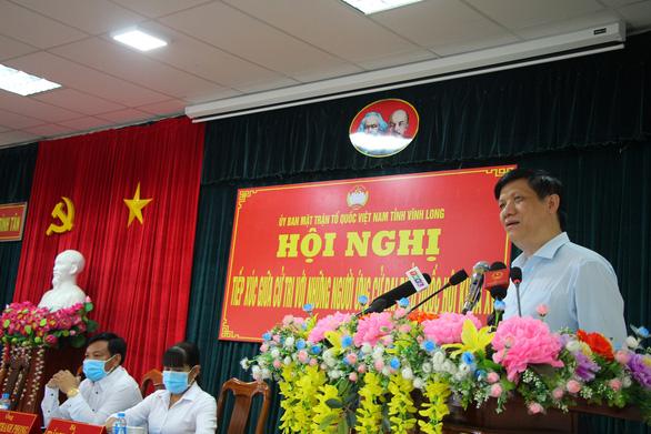 Bộ trưởng Nguyễn Thanh Long: Cố gắng năm nay tiêm vắc xin quy mô lớn nhất lịch sử - Ảnh 1.
