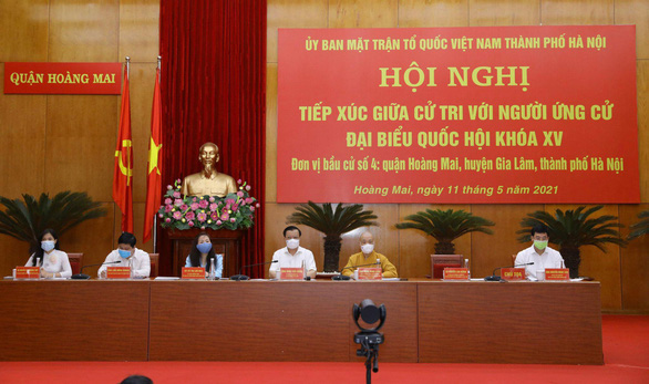 Bí thư Hà Nội Đinh Tiến Dũng hứa gương mẫu và gắn bó mật thiết với cử tri - Ảnh 2.