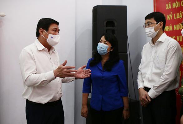 Chủ tịch Nguyễn Thành Phong cam kết 6 nội dung phát triển TP.HCM thành đô thị thông minh - Ảnh 1.