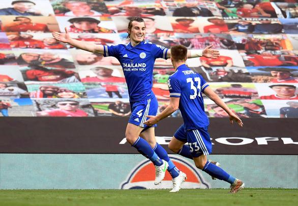 Man City vô địch Premier League sau khi Man Utd bại trận trước Leicester - Ảnh 3.