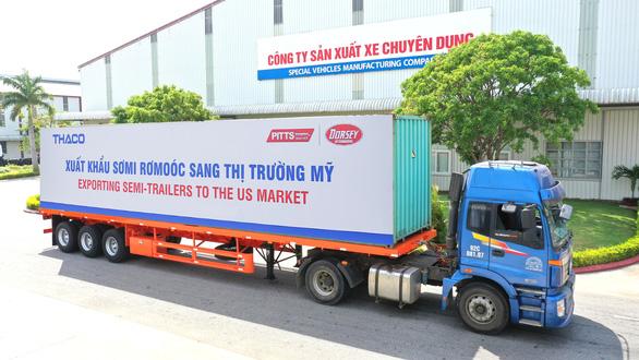 Thaco đẩy mạnh xuất khẩu sơmi rơmoóc sang thị trường Mỹ - Ảnh 1.