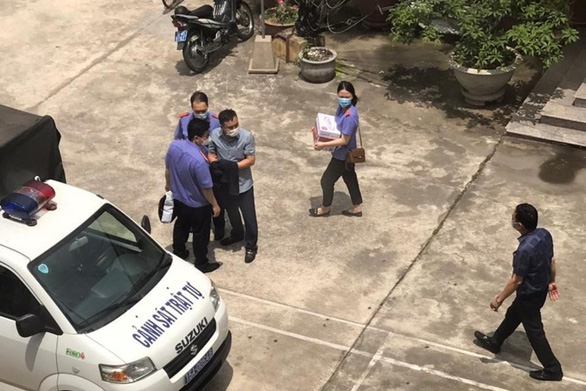 Khởi tố nhóm cán bộ công an quận Đồ Sơn liên quan việc làm sai lệch hồ sơ - Ảnh 1.