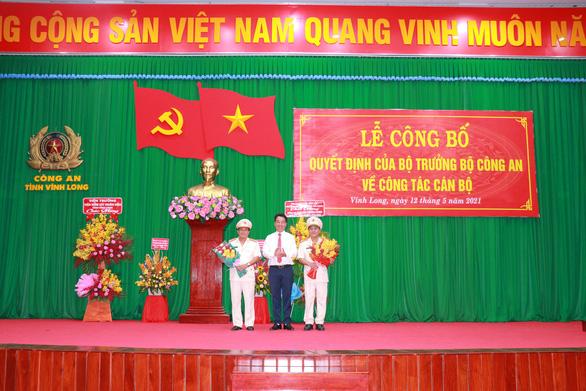Bổ nhiệm đại tá Nguyễn Trọng Dũng giữ chức giám đốc Công an tỉnh Vĩnh Long - Ảnh 1.