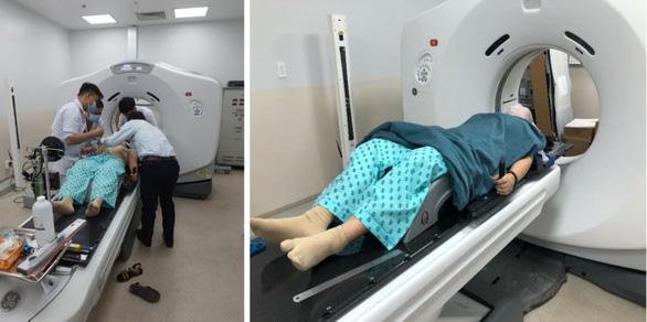 Khu xạ trị khép kín trong ngày Bệnh viện Ung bướu đi vào hoạt động - Ảnh 1.